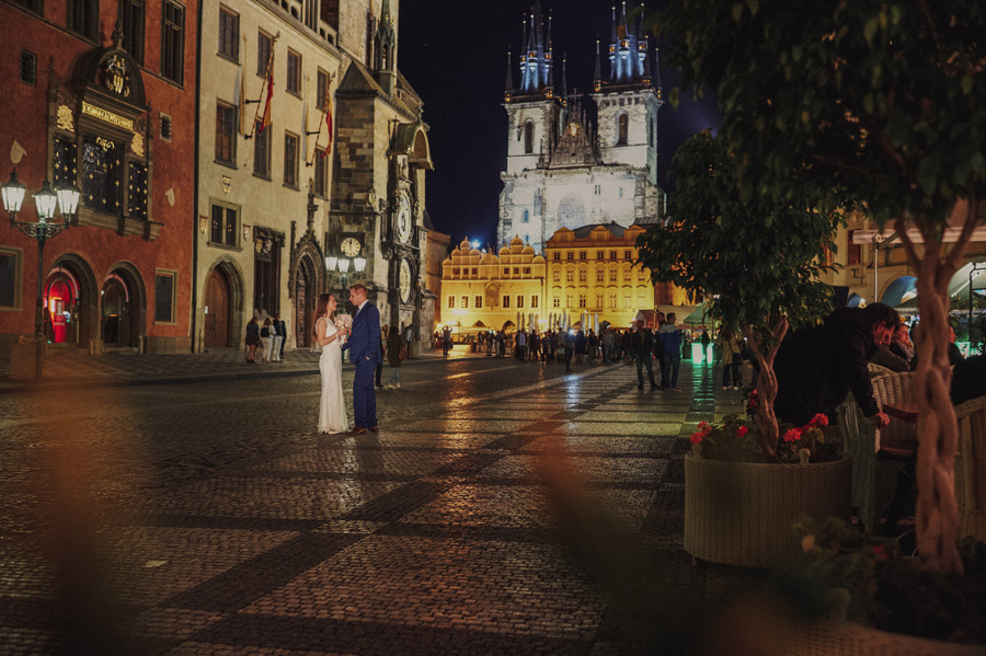 Wedding in Praha photography