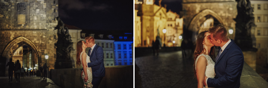 Wedding destination Praha - Carol Bridge